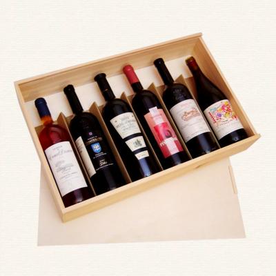 Bild Weinkisten fuer 6 Flaschen